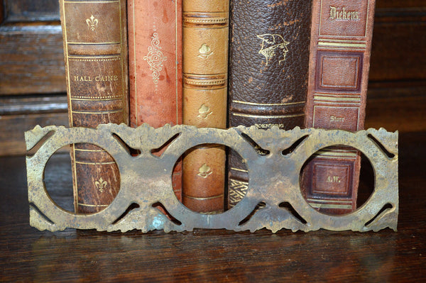 Antique French Circular Border Trim Molding Hardware - Antique Flea Finds - 3