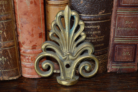 Antique French Bronze Trim Hardware - Antique Flea Finds