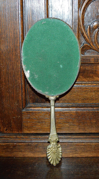 Antique French Hand Mirror with Lovely Shell Detail - Antique Flea Finds - 5
