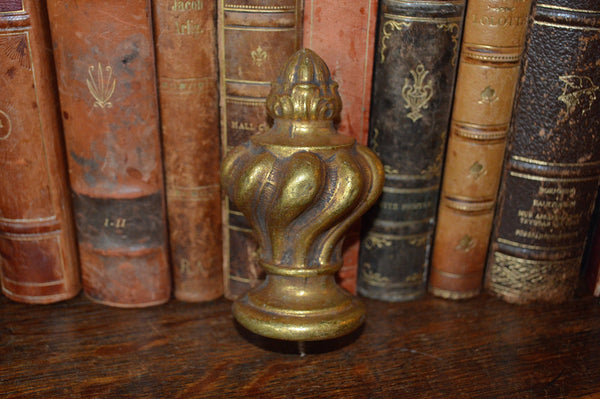 Antique French Finial Bronze Ormolu Hardware - Antique Flea Finds - 2