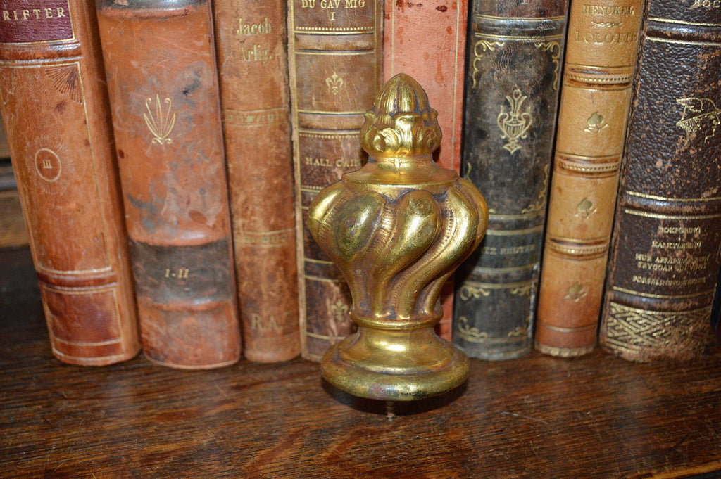 Antique French Finial Bronze Ormolu Hardware - Antique Flea Finds - 1