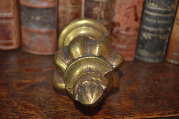Antique French Finial Bronze Ormolu Hardware - Antique Flea Finds - 3