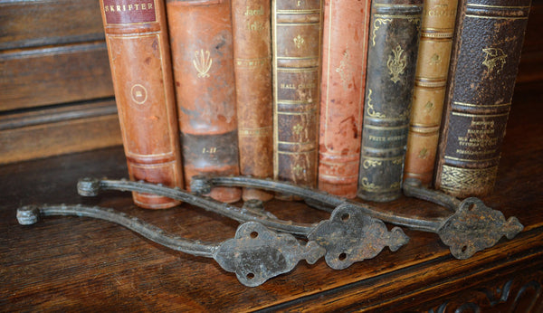 Antique Large French Cast Iron Hook Hardware 3 Available Sold Individually - Antique Flea Finds - 6