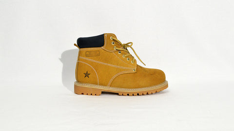 Wheat Steel Toe Boot
