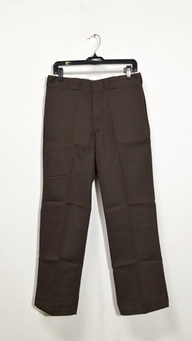 Big Men's Dickies Classic Dark Brown Work Pant