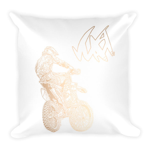 Gold Ryan pillow