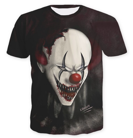 Pizoff Stephen King's It 3D Print T-shirt Version 3
