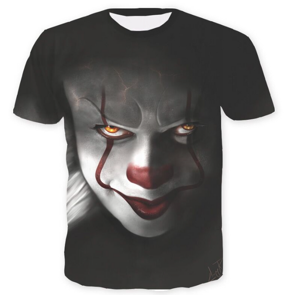 Pizoff Stephen King's It 3D Print T-shirt Version 4