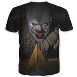 Pizoff Stephen King's It 3D Print T-shirt Version 5