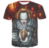 Pizoff Stephen King's It 3D Print T-shirt Version 6