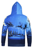Pizoff Unisex Funny Print Hoodie Coat Long Sleeve With Front Pocket AG001-07