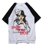 Pizoff Unisex Street Style Hip-hop Hipster Casual T-Shirt AL078