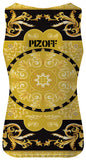Pizoff Unisex 3D Print Work Out Compression Muscle Tank Top AL083-02