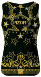 Pizoff Unisex 3D Print Work Out Compression Muscle Tank Top AL083-15