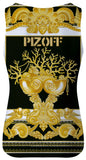 Pizoff Unisex 3D Print Work Out Compression Muscle Tank Top AL083-16