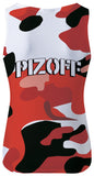 Pizoff Unisex 3D Print Work Out Compression Muscle Tank Top AL083-22