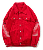 Pizoff Mens Hipster Pop-up Washed Denim Retro Distress Jacket AL173