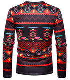 Pizoff Unisex Hipster Long Sleeve 3D Print Cardigan Top Shirts B666-35