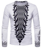 Pizoff Unisex Hipster Long Sleeve 3D Print Cardigan Top Shirts B666-49