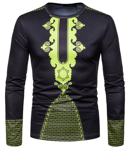 Pizoff Unisex Hipster Long Sleeve 3D Print Cardigan Top Shirts B666-50