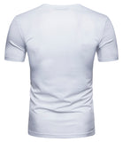 Pizoff Summer Men's short sleeved T-shirt Polo Shirt Printing Tees BA0024