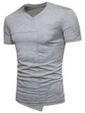 Pizoff Summer Men's short sleeved T-shirt Polo Shirt Printing Tees BA0030