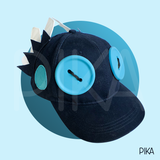 Pizoff MHW Monster Hunter World The Wiggler Head Helmet Cosplay Wiggle Hat By Hand-made (In Stock Now Only 50 Left)