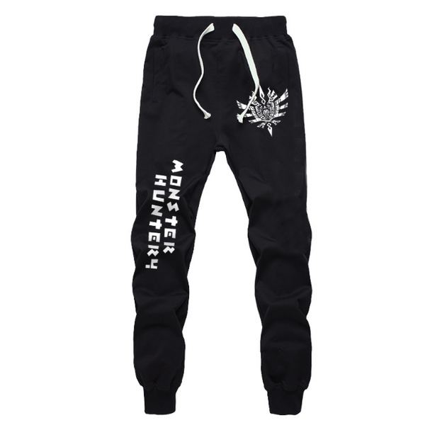 Monster Hunter Black&Grey Soft Lounge Pants