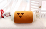 Pizoff MHW Monster Hunter World Barbecue Plush Toy Bone Pillow(45*20cm)