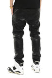 men leather pants Y0355