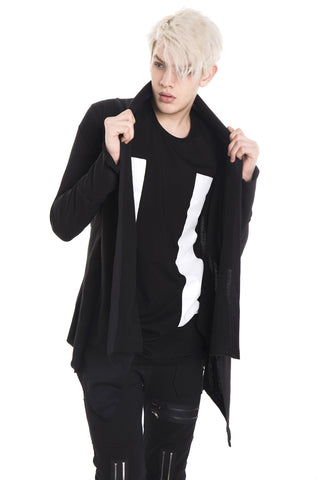 Men's Hip Hop Long Coat Y1576