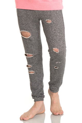 Hip Hop Long Dipped Pants Y1580-Gray
