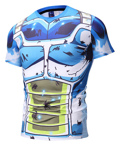 Pizoff Unisex Dragon Ball 3D Digital Printing T Shirts Y1625-N6