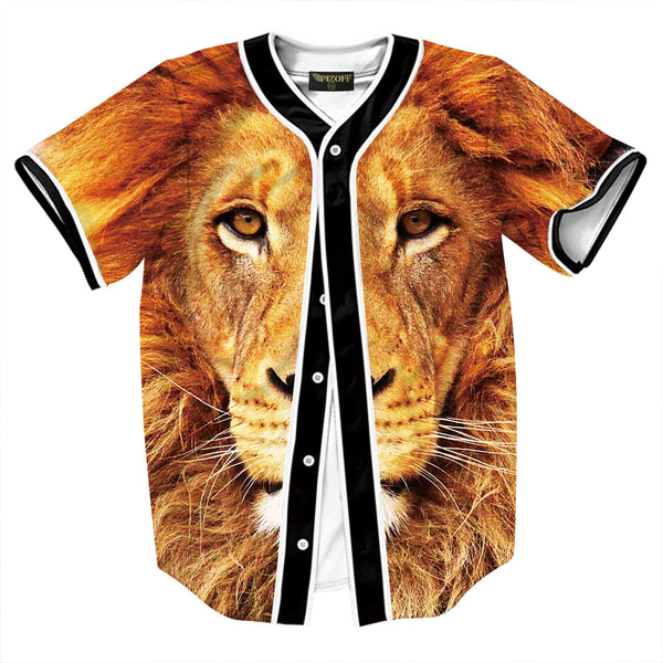 Pizoff Unisex Arc Bottom 3D Print Baseball Team Jersey Shirt Y1724-81