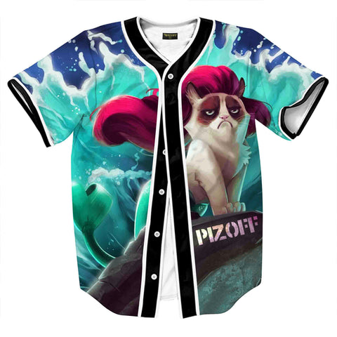 Pizoff Unisex Youth Arc Bottom 3D Print Baseball Team Jersey Shirt Y1724-A5