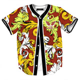 Pizoff Unisex Youth Arc Bottom 3D Print Baseball Team Jersey Shirt Y1724-A7