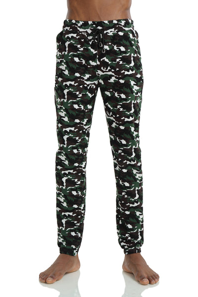 Pizoff Unisex Hipster Hip Hop Dance Sports Zips Joggers Camo Pants Y1750