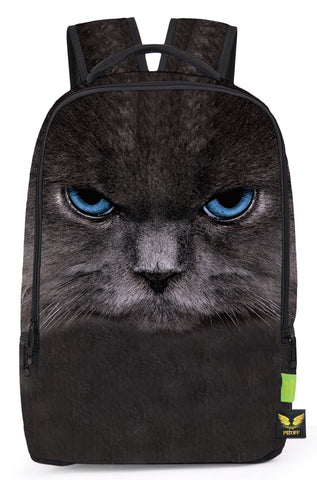 Pizoff Doulbe Mesh Padded Adjustable Shoulder Straps Cute Cat Print School Bookbags Rucksack Travel Laptop Backpacks Boys Girls Y1799-01