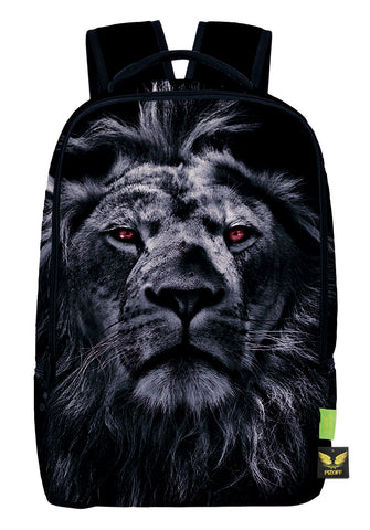 Pizoff Doulbe Mesh Padded Adjustable Shoulder Straps Cute Lion Print School Bookbags Rucksack Travel Laptop Backpacks Boys Girls Y1799-04