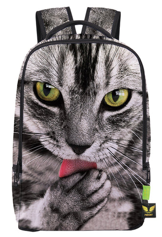 Pizoff Doulbe Mesh Padded Adjustable Shoulder Straps Cute Cat Print School Bookbags Rucksack Travel Laptop Backpacks Boys Girls Y1799-22