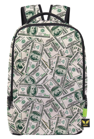 Pizoff Doulbe Mesh Padded Adjustable Shoulder Straps Cute Dollar Print School Bookbags Rucksack Travel Laptop Backpacks Boys Girls Y1799-26