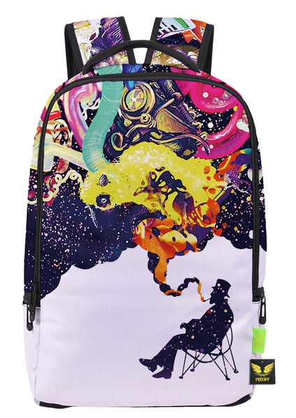 Pizoff Doulbe Mesh Padded Adjustable Shoulder Straps Cute Colorful Graphic Print Zipper School Bookbags Rucksack Travel Laptop Backpacks Boys Girls Y1799-46