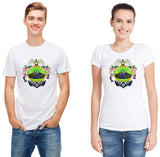 Pizoff Unisex Short Sleeve Rick&Morty Themes Printing T-Shirt Y1897-19