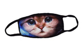 Pizoff Cat Streetstyle Cotton Comfortable Mask Y1898-06