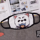 Pizoff GINTAMA Streetstyle Cotton Comfortable Mask Y1898-09