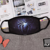 Pizoff Spider-man Streetstyle Cotton Comfortable Mask Y1898-13