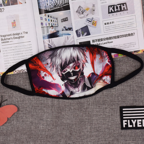 Pizoff Tokyo Ghoul Streetstyle Cotton Comfortable Mask Y1898-31