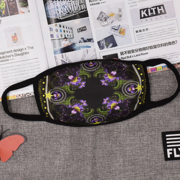 Pizoff Luxury Print Streetstyle Cotton Comfortable Mask Y1898-37