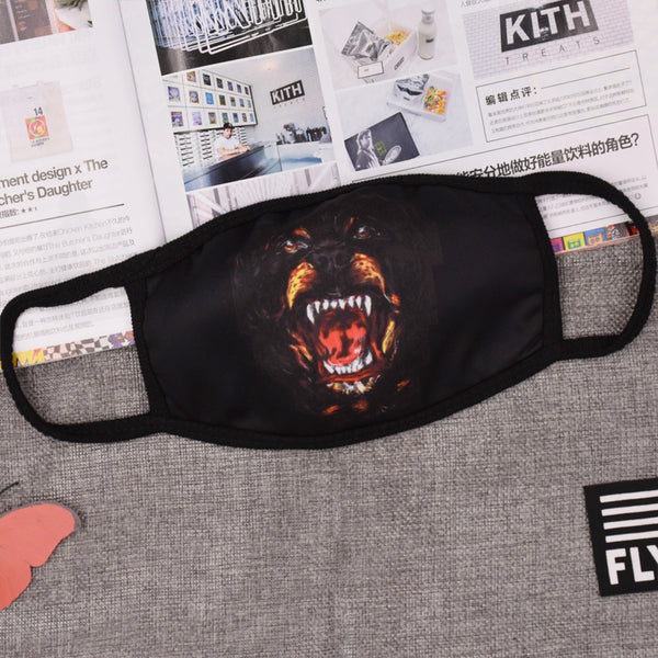 Pizoff Panther Streetstyle Cotton Comfortable Mask Y1898-40