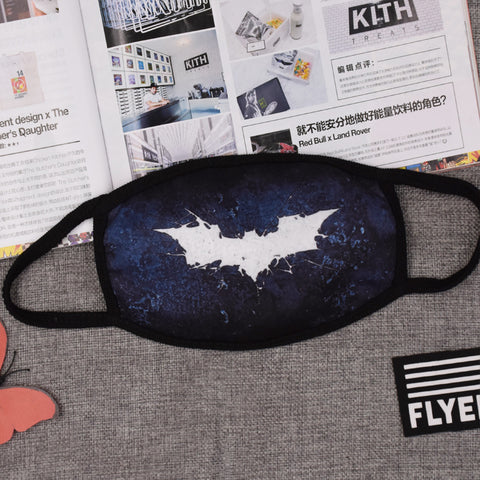 Pizoff Batman Streetstyle Cotton Comfortable Mask Y1898-41